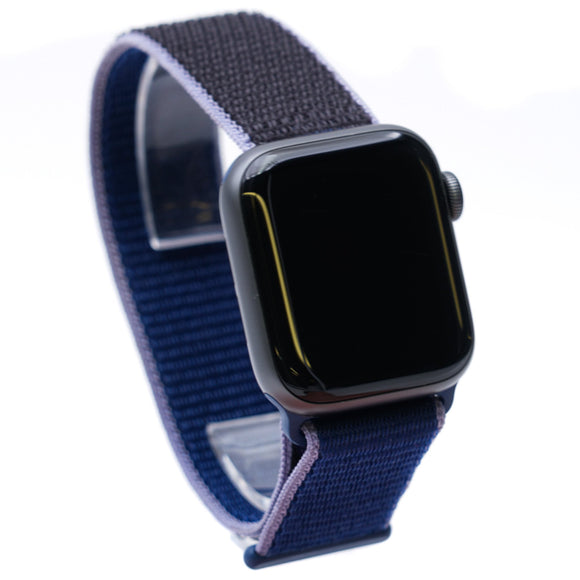 40MM Series 4 Smart Watch Space Gray with Blue Band O/S
