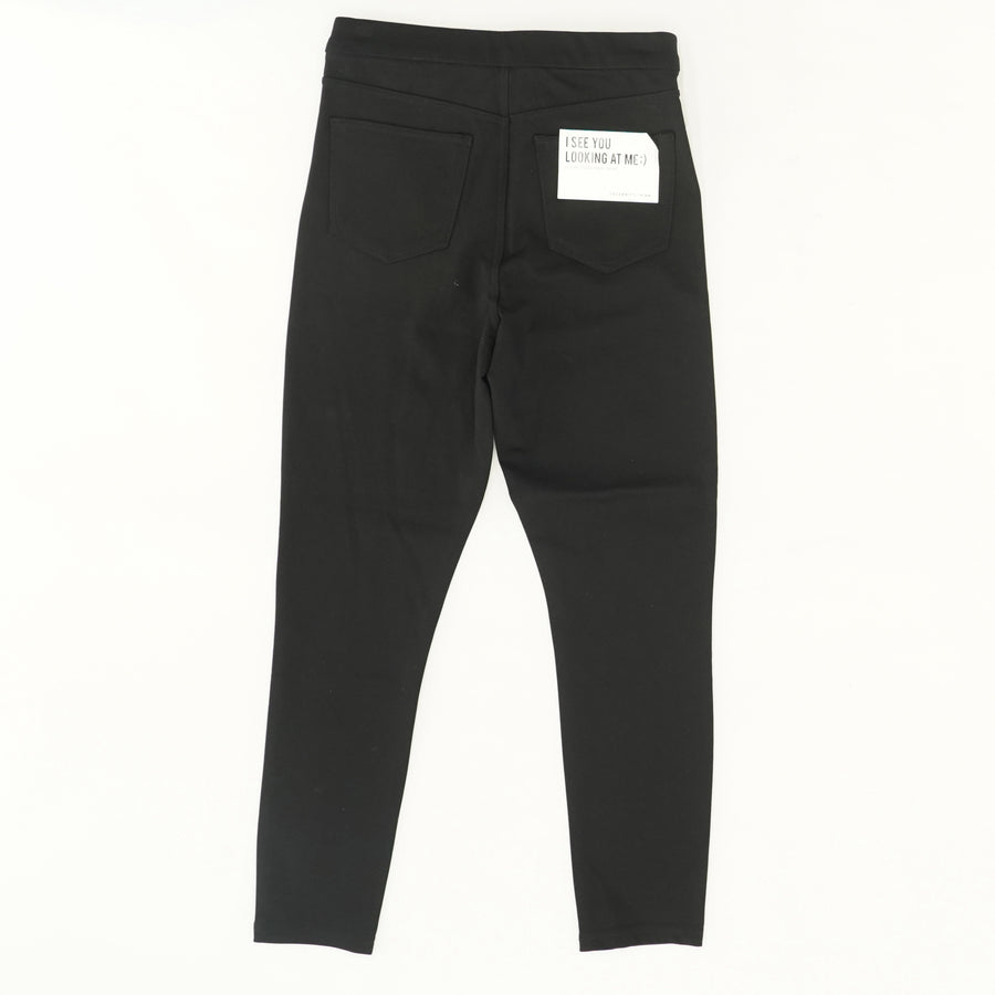 Little Black Ponte High Rise Ankle Skinny Pants Size M, L