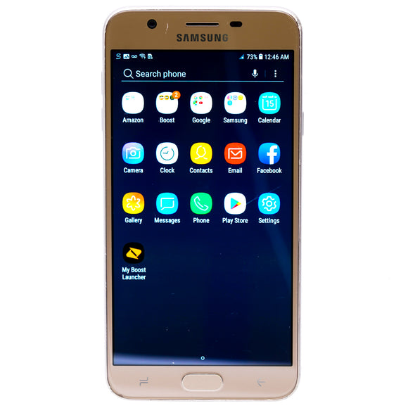 Galaxy J7 32GB Smartphone For Boost Mobile Gold