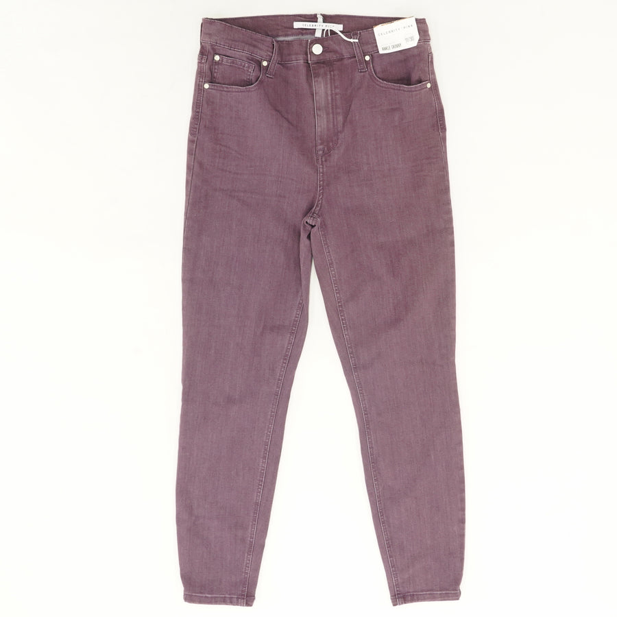 Grape Rinse High Rise Ankle Skinny Jeans - Size 3, 11