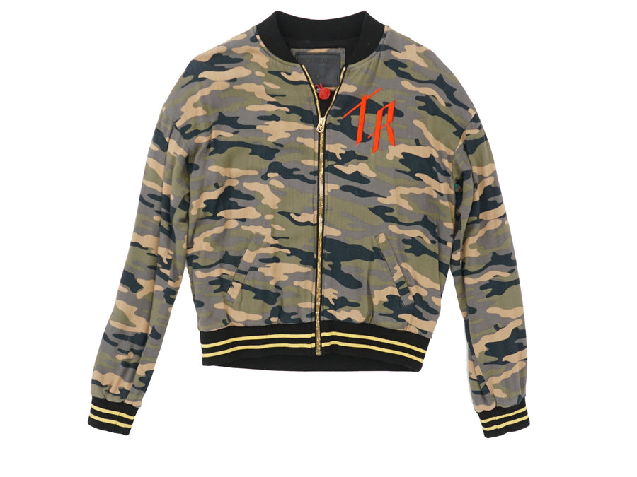 Camouflage Cotton Jacket Size M