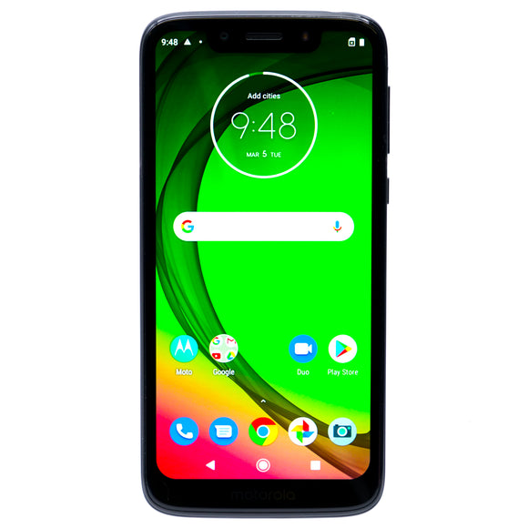 Moto G7 Play 32GB Smartphone for Boost Mobile Starry Black