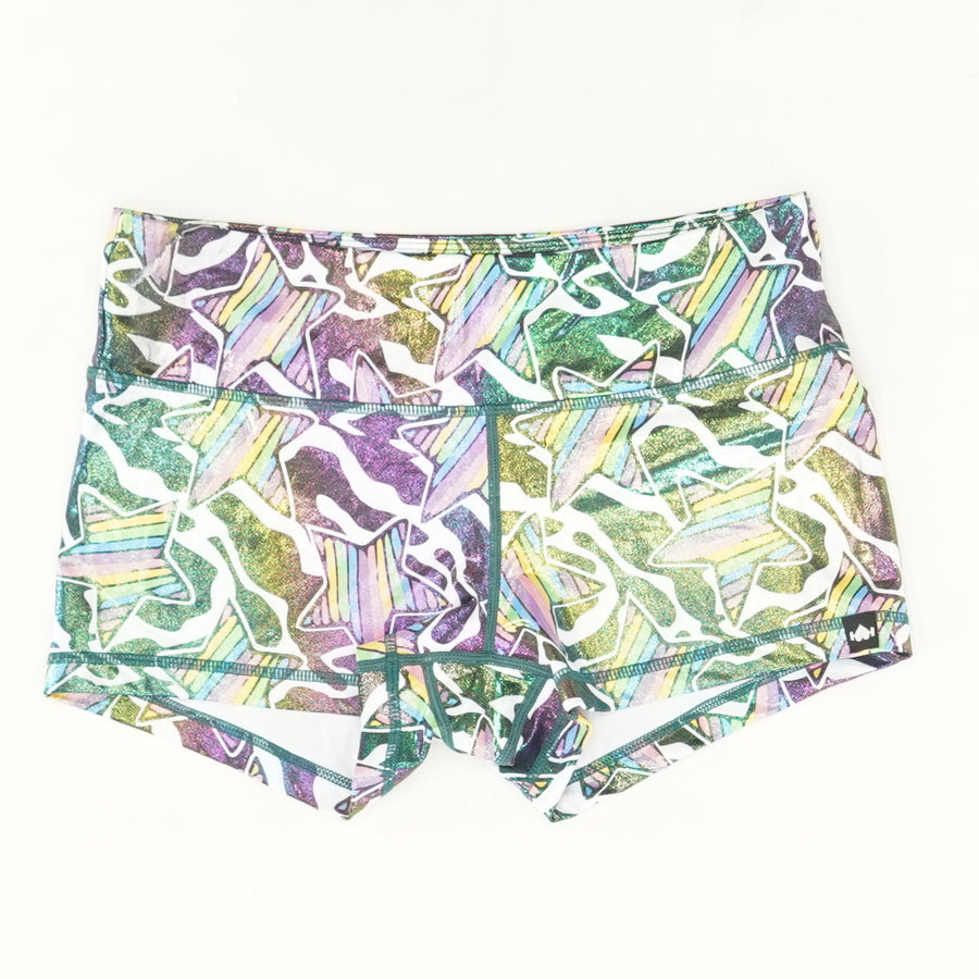 "Super Star 3.25"" Shiny Shorties - Size M"