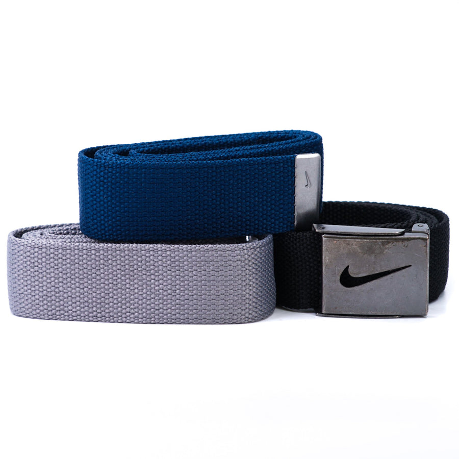 3-Pack Golf Web Belts