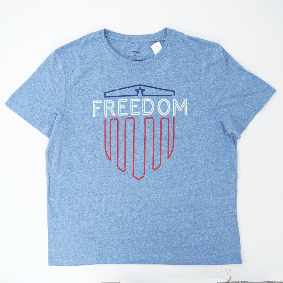 Freedom Graphic Tee Size 2XL