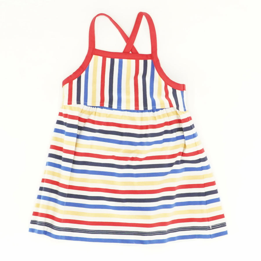 Colorful Striped Dress - Size 12/18M