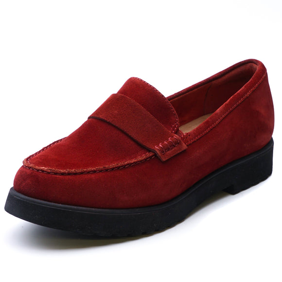 Bellevue Hazen Penny Loafer Red Size 7