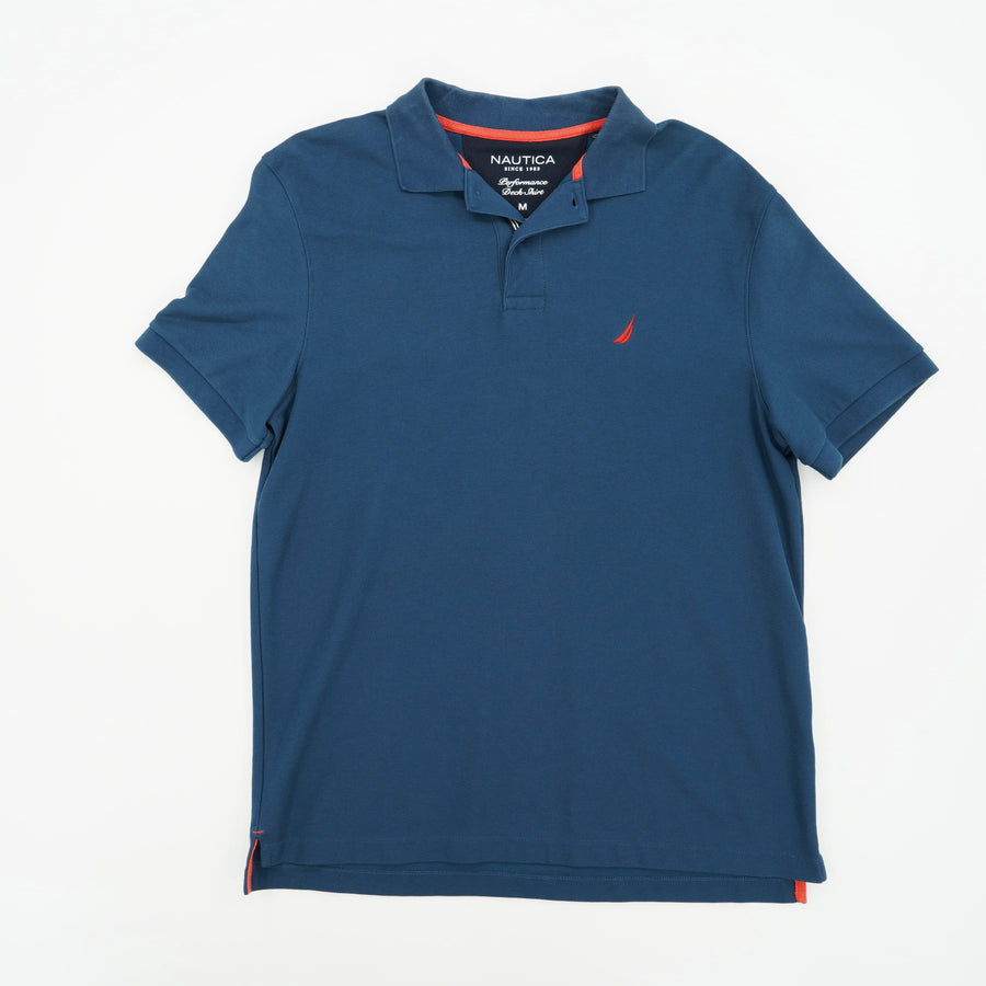 Casual Short Sleeve Polo Size M