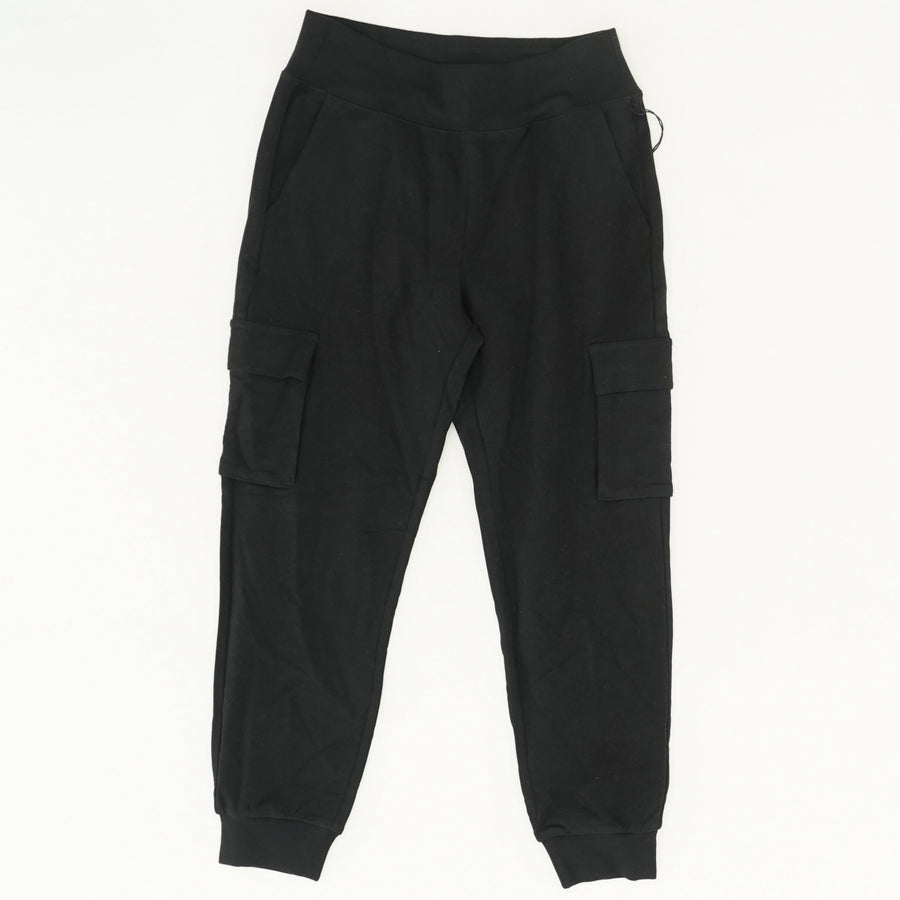 7/8 High-Waist Cargo Sweatpants - Size S