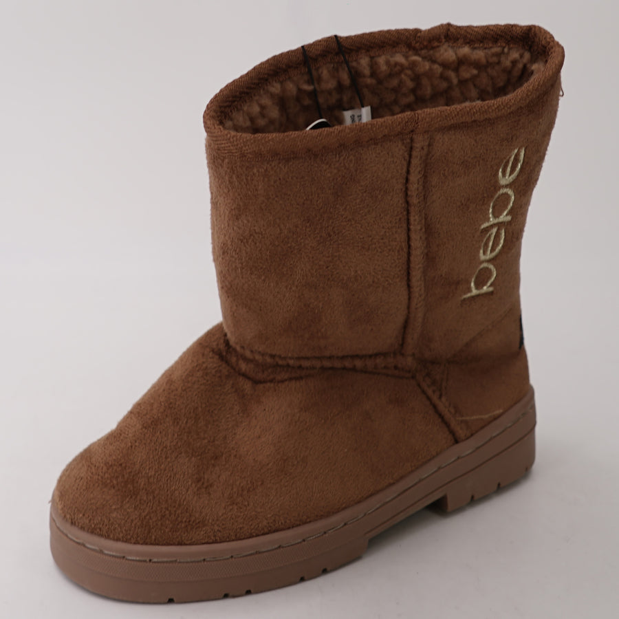 Tan Winter Boot With Metallic Logo 13T