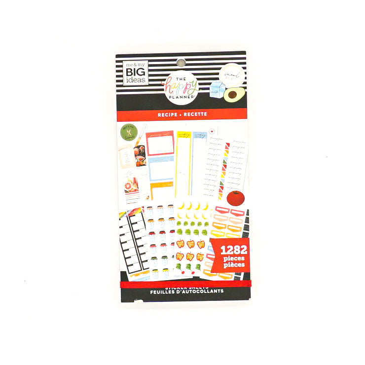 Recipe Value-Pack Sticker Sheets