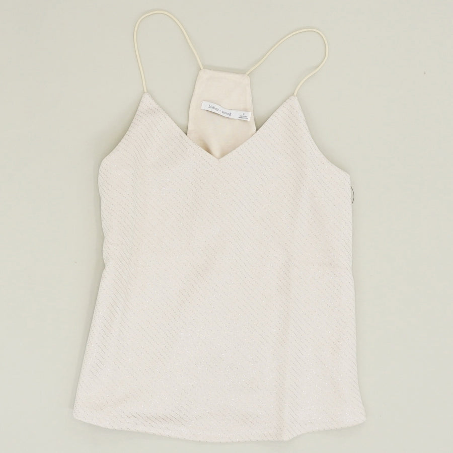 Glitter Cami Tank Top - Size S