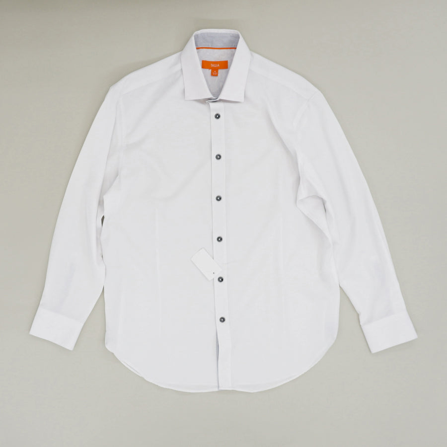 Solid Performance Stretch Slim Fit Dress Shirt - Size 15-15.5 32/33
