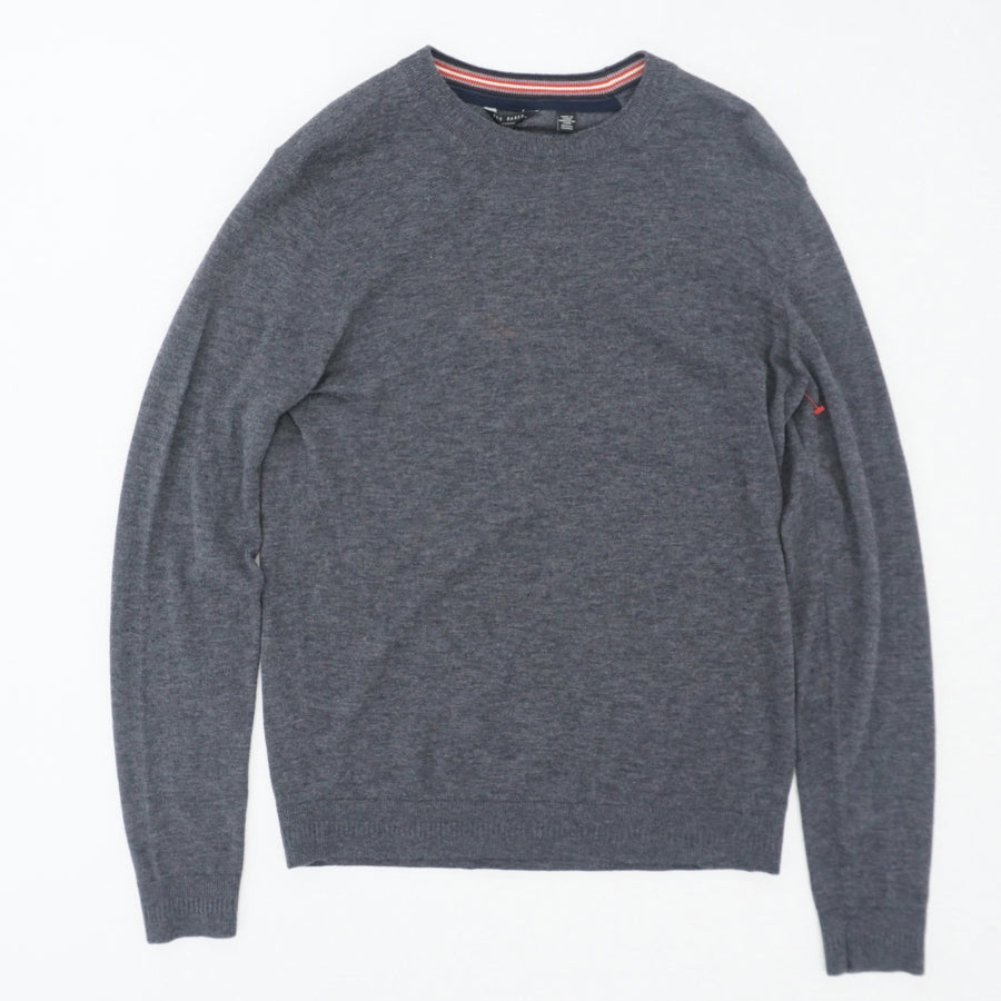 Chemin Slim Fit Crewneck Sweater Size 4