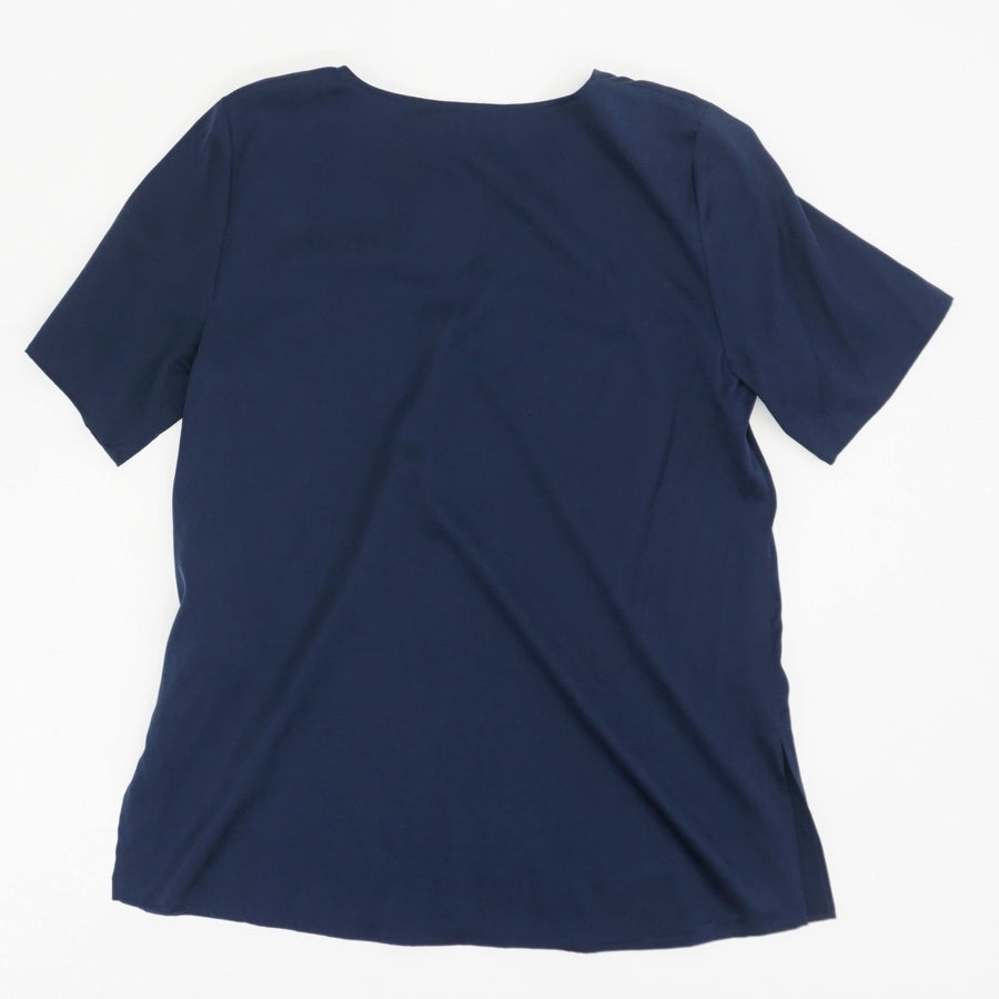 V-Neck Box Top Size S