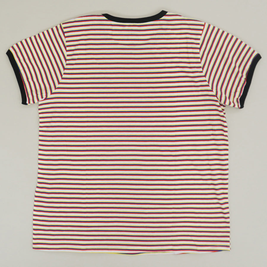 Striped Crew Neck T-Shirt - Size 2