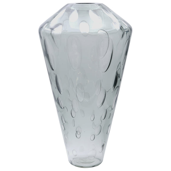 Tall Millebolle Murano Glass Vase