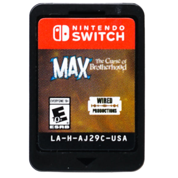 Max The Curse of Brotherhood for Nintendo Switch