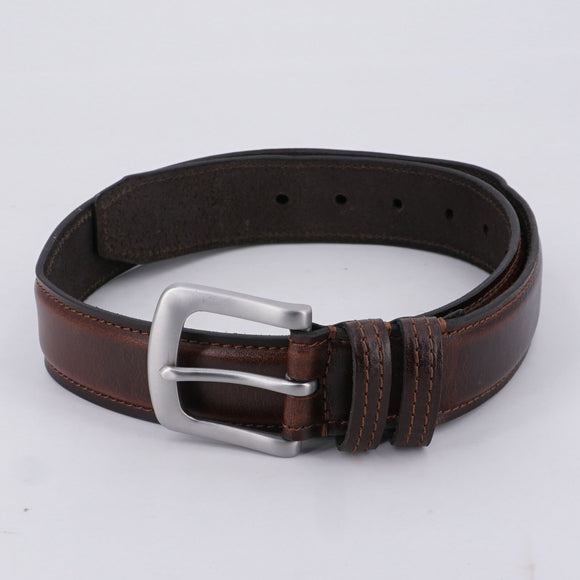Brown Leather Belt Size S