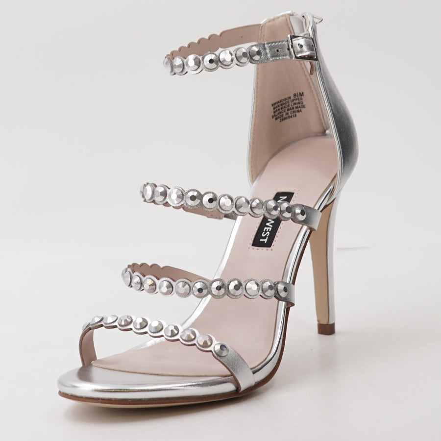 Vandison Synthetic Heeled Sandal - Size 8.5
