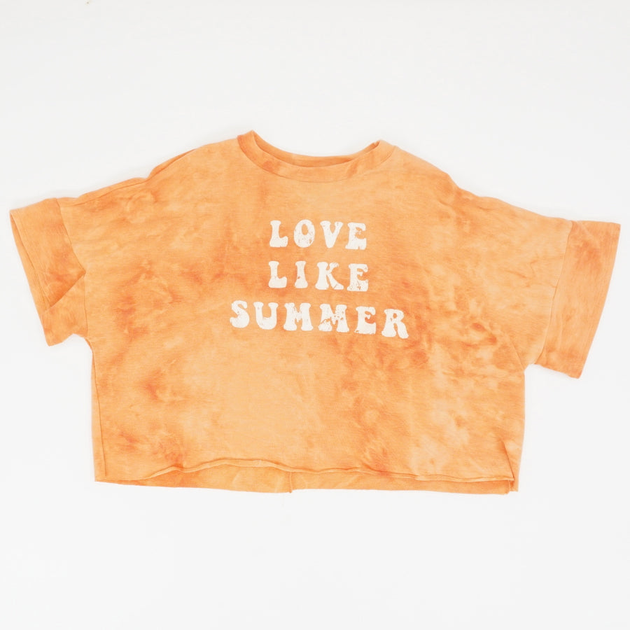 Love Like Summer Graphic Crop Top - Size S