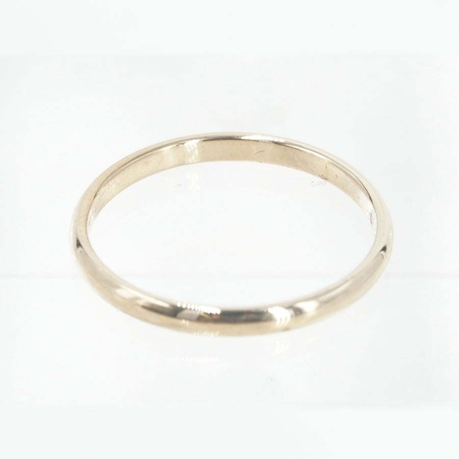 14K Two Tone Band Size 12