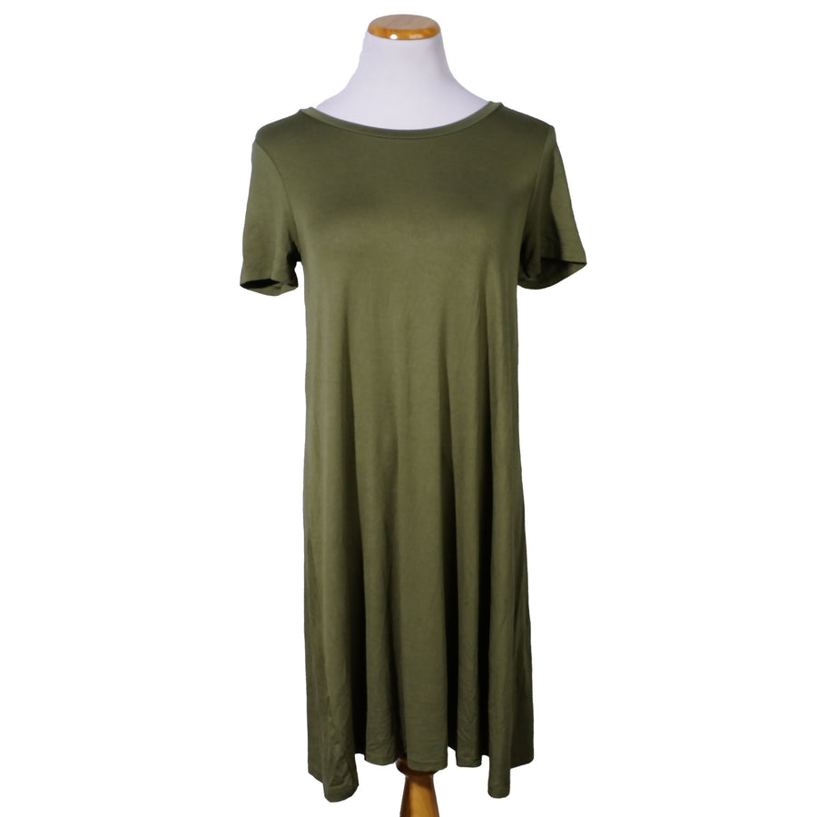 Casual T-Shirt Dress - Size M