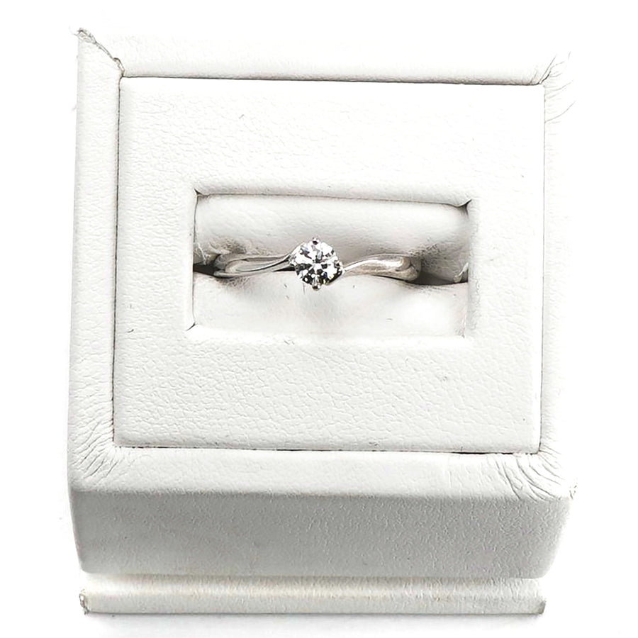 Disney Diamond Bypass Ring Size 5.5
