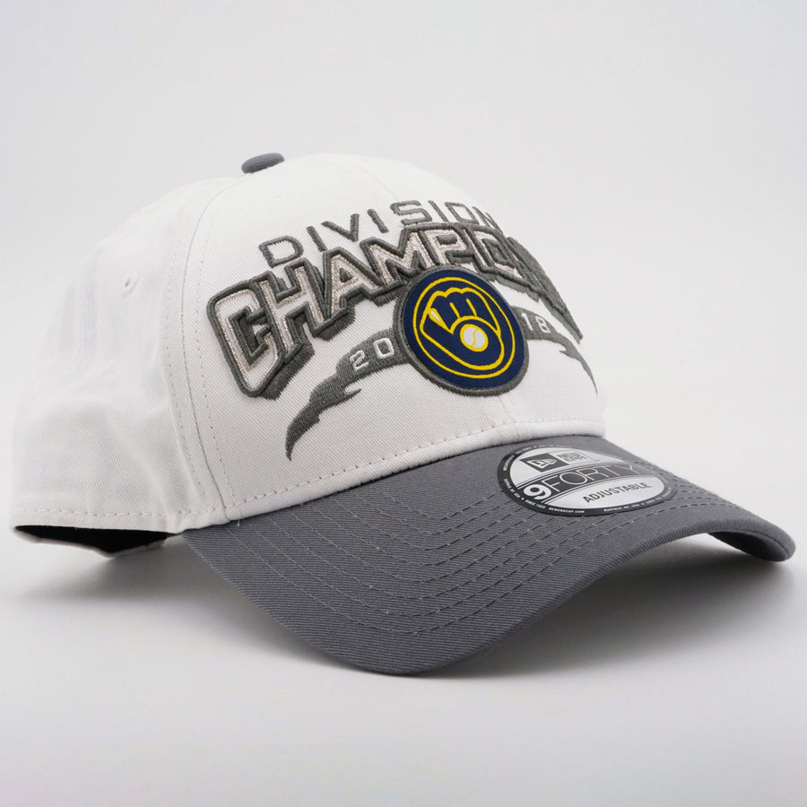 MLB Milwaukee Brewers 2018 Division Champs Ballcap Size OS
