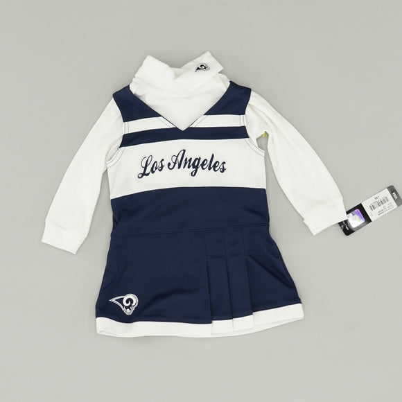 Rams Cheer Suit Size 2T