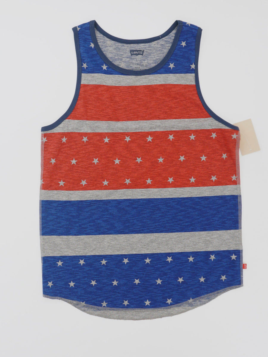 Stars and Stripes Graphic Tank