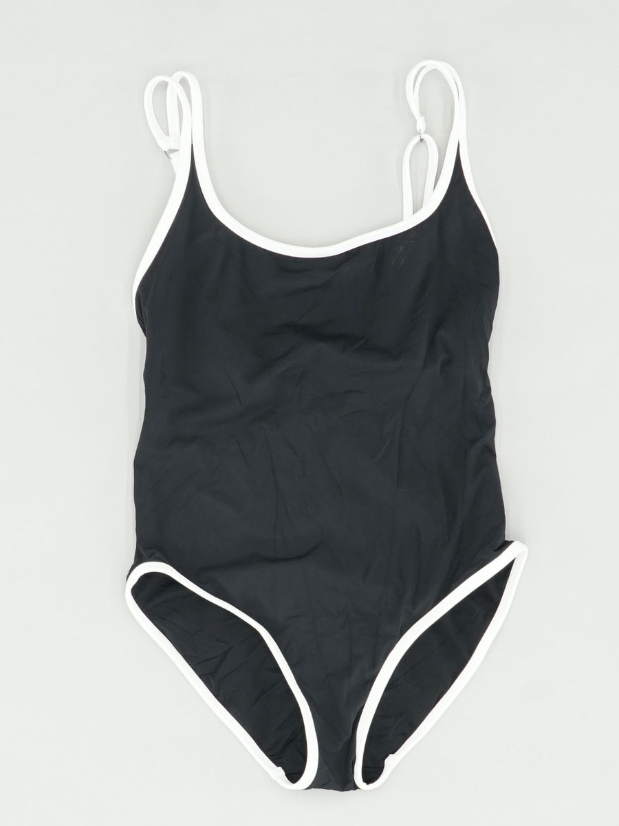 Double Strap One Piece Size 10