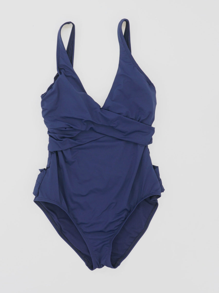 Ruched Bottom One Piece Size 10
