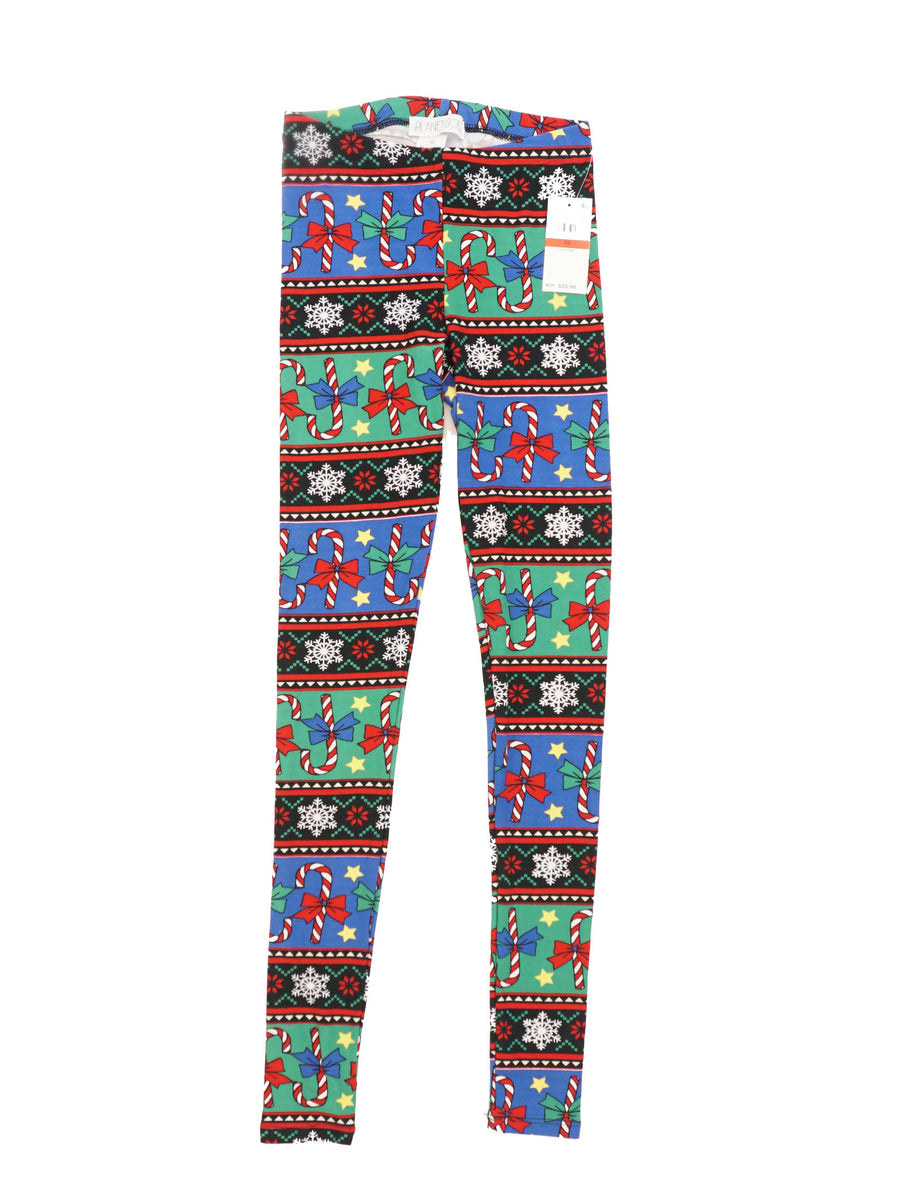 Candy Cane Leggings Size XS