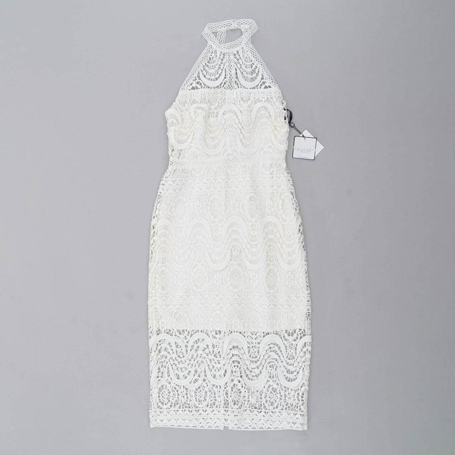 Embroidered Overlay Dress Size 4