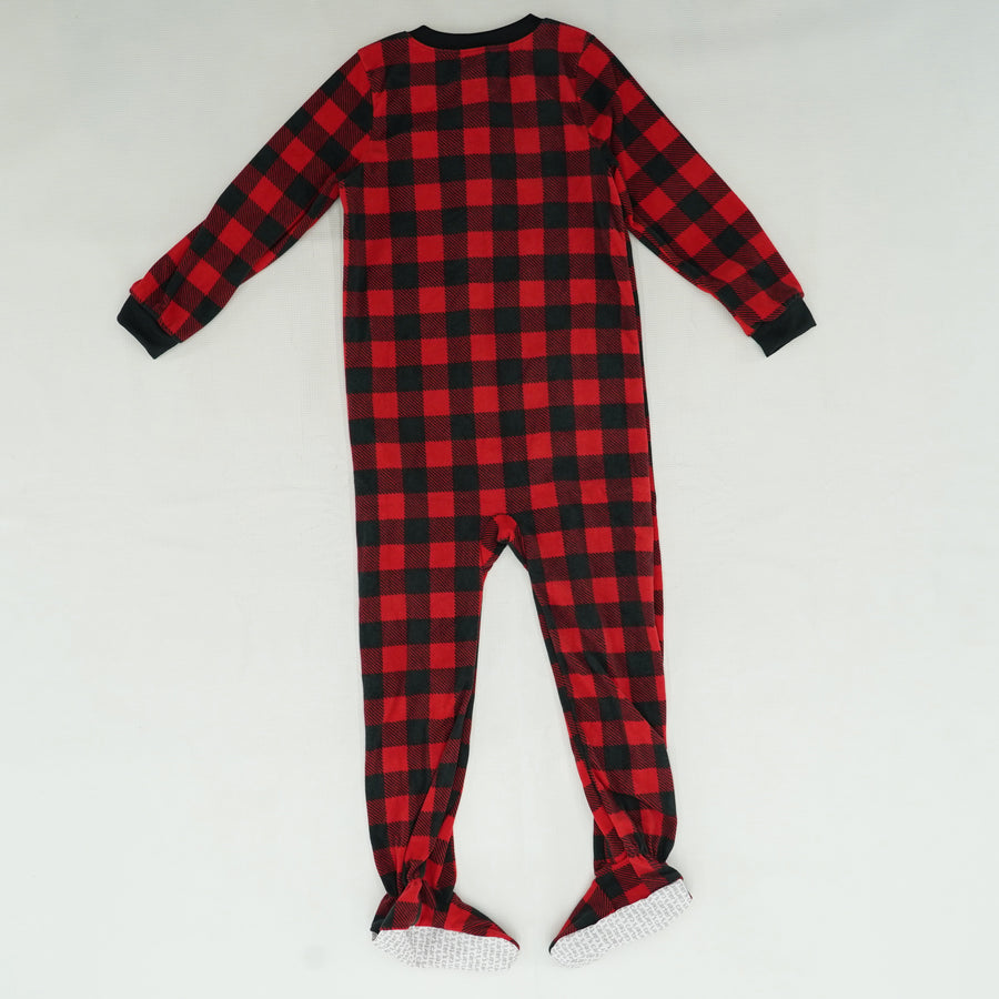 Buffalo Plaid Onesie Size 7