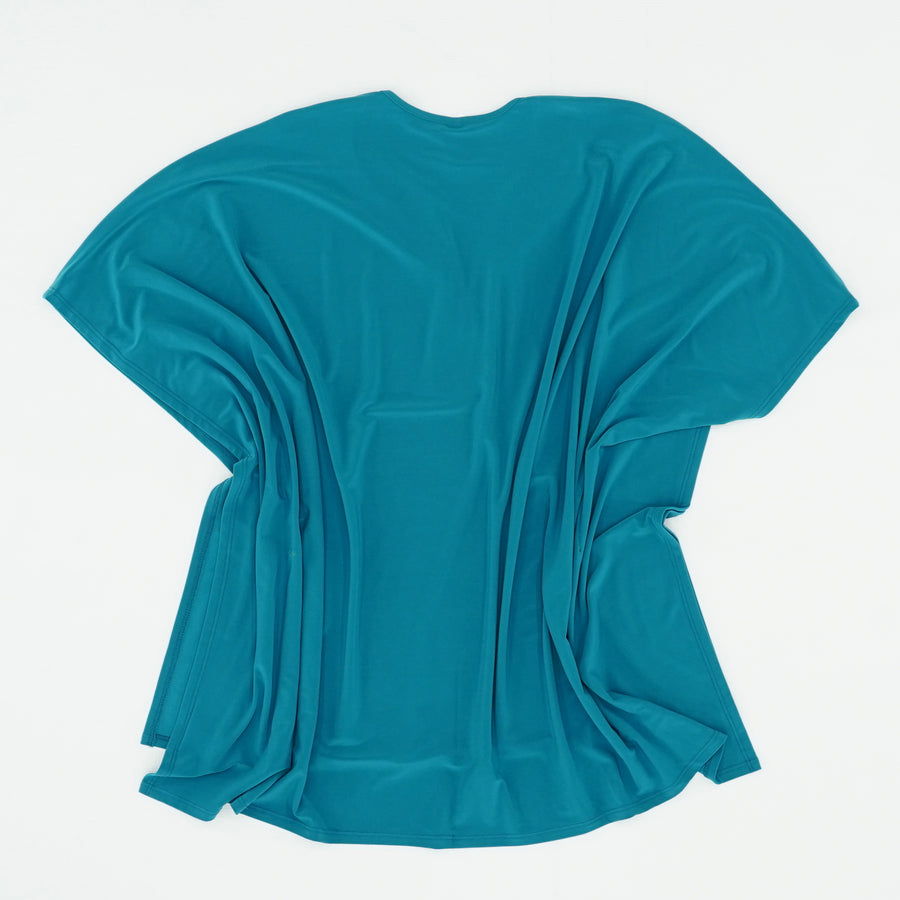 Scoop Neck Kaftan Blouse