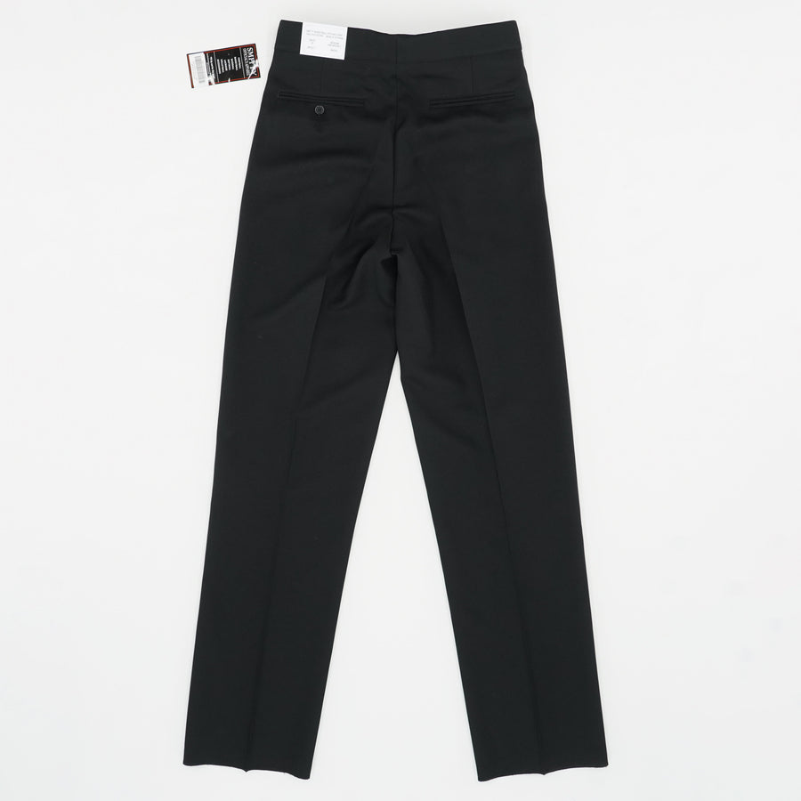 Basketball Pleated Officials Referee Pants Size 32W Unhemmed