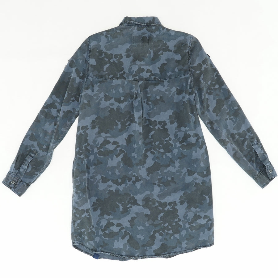 Military Edition Button Down Shirt Size S