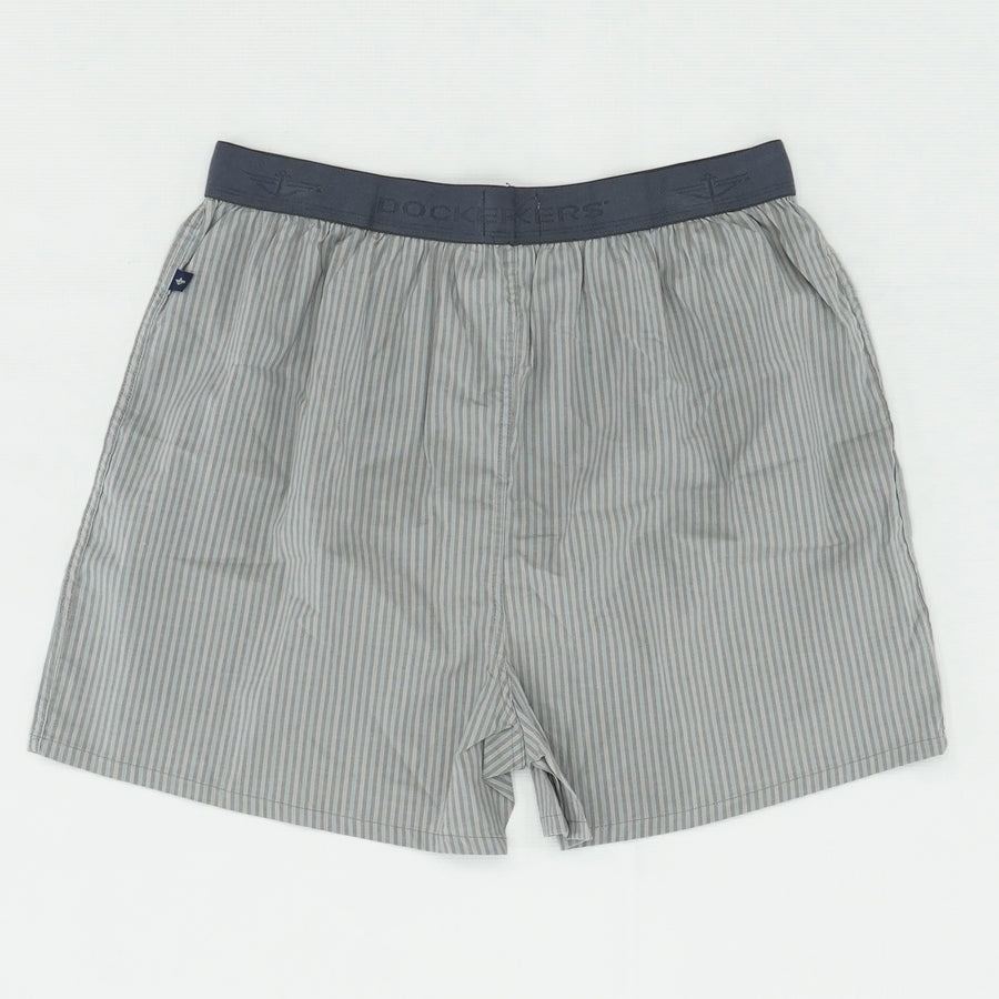 Striped Thick Band Boxer Brief Size L