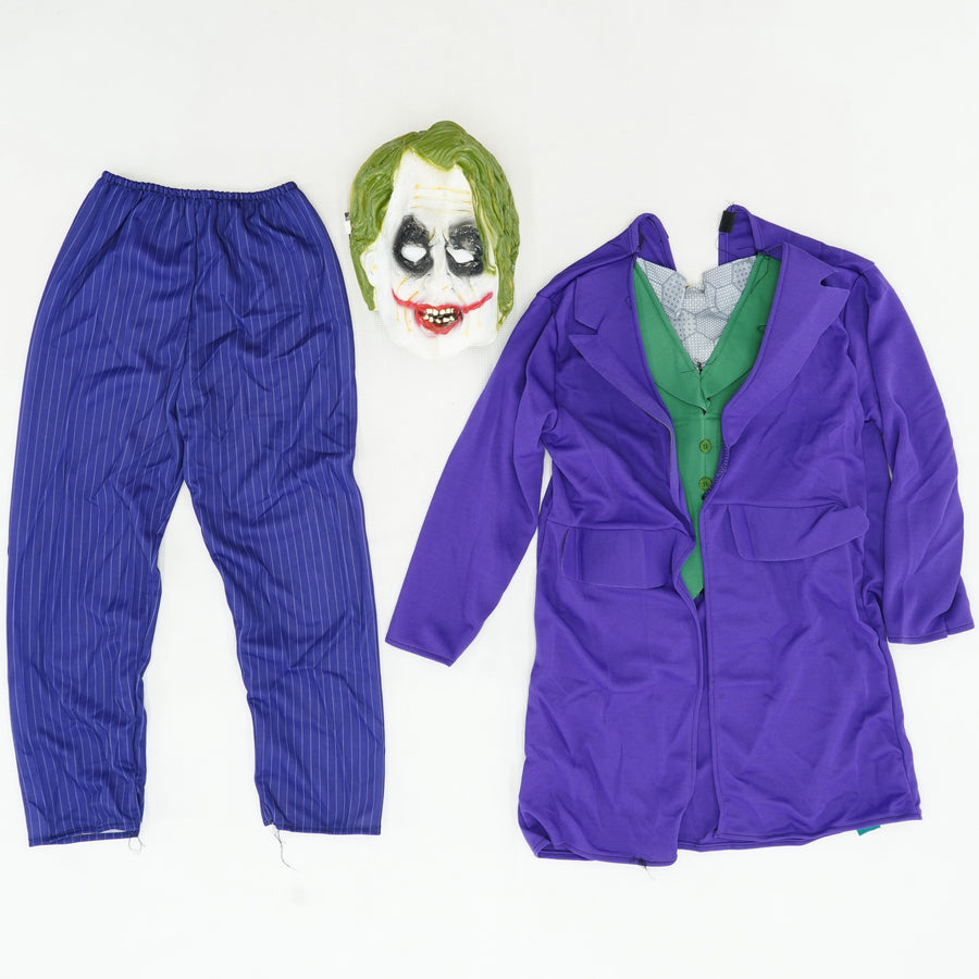 Joker Halloween Costume Size 8/10