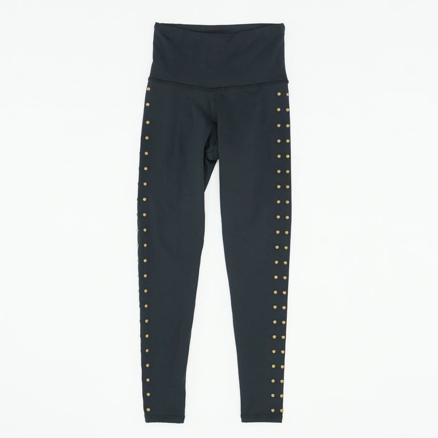 Moisture Wicking Stud Detail Leggings OS