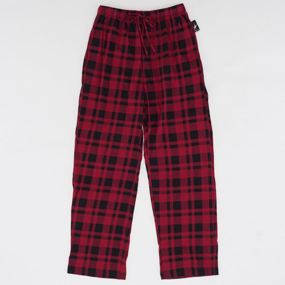Plaid Drawstring Waist Sleep Pants Size S