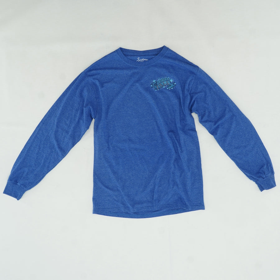 Southern Y'all Ribbon Long Sleeve Tee Size M