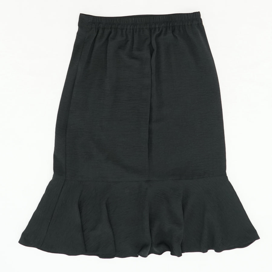 Black Ruffle Skirt Size M