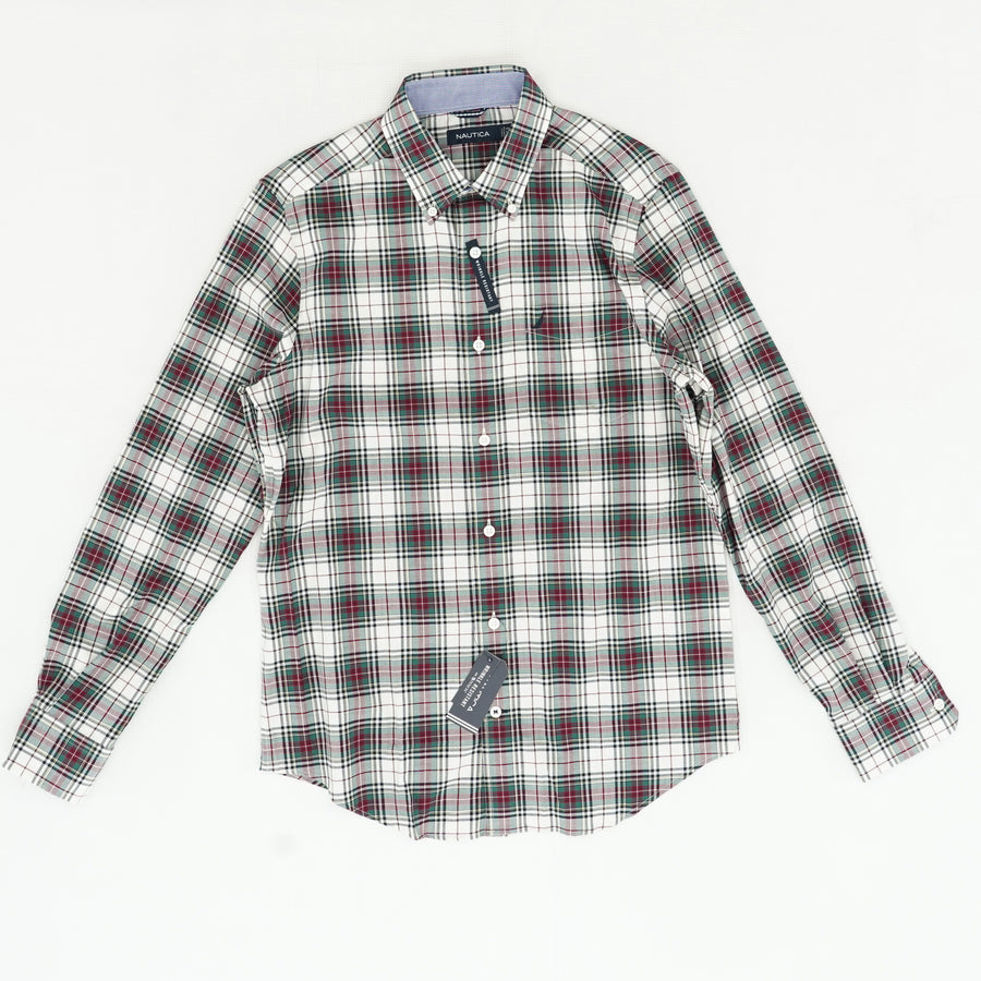Wrinkle Resistant Button-Up - Size S