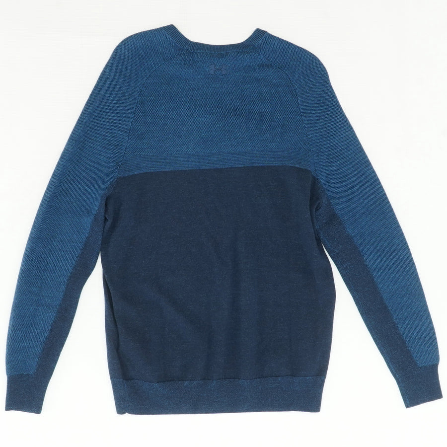 Threadborne Paneled Sweater Size S