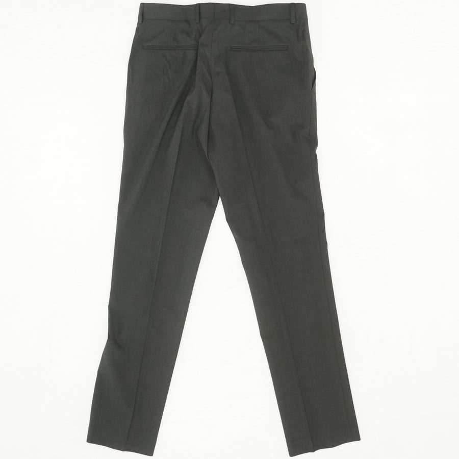 Black Straight Leg Dress Pant Size 32W 30L