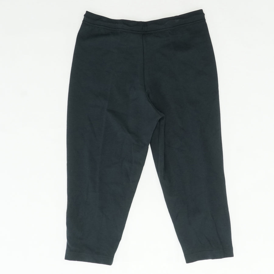 Black Pant With Zipper Detail On Legs