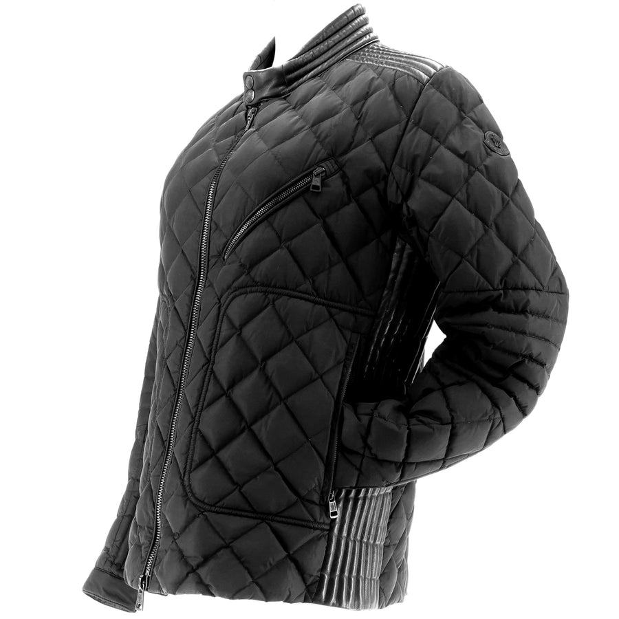 Lalay Quilted Moto Jacket Size 4